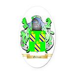 Gillion Oval Car Magnet