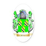 Gillio Oval Car Magnet
