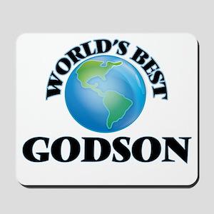 World's Best Godson Mousepad