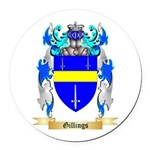 Gillings Round Car Magnet