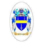 Gillings Sticker (Oval 10 pk)
