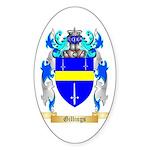 Gillings Sticker (Oval 50 pk)