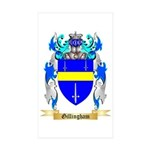 Gillingham Sticker (Rectangle 50 pk)