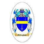 Gillingham Sticker (Oval 10 pk)