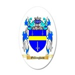 Gillingham 35x21 Oval Wall Decal