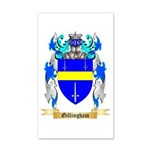 Gillingham 20x12 Wall Decal