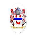 Gilligan Oval Car Magnet