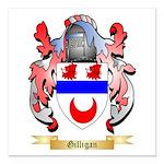 Gilligan Square Car Magnet 3