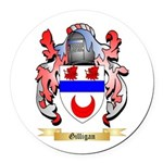 Gilligan Round Car Magnet
