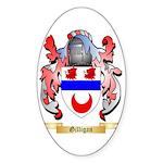 Gilligan Sticker (Oval 50 pk)