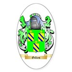 Gillies Sticker (Oval 50 pk)