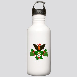 Christmas Holly With B Stainless Water Bottle 1.0L