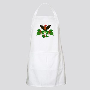 Christmas Holly With Bat Apron