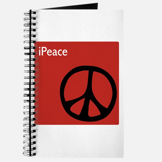 iPeace Symbol Red Journal