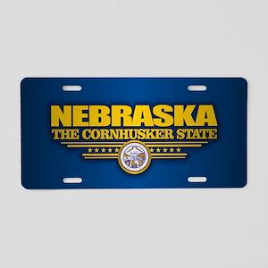 Nebraska (v15) Aluminum License Plate