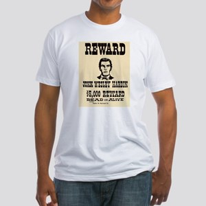 John Wesley Hardin Fitted T-Shirt
