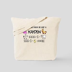 Kayden had a Farm Tote Bag