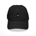 Silhouette of Chihuahua Going Shopping Black Cap
