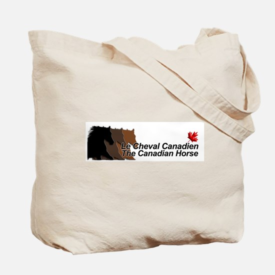 Cheval Canadien/Canadian Horse Tote Bag