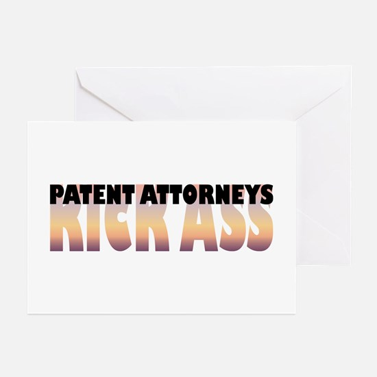 Patent Attorneys Kick Ass Greeting Cards (Package