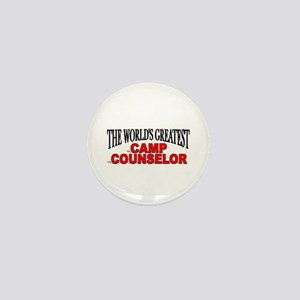 """The World's Greatest Camp Counselor"" Mini Button"