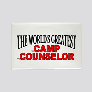 """The World's Greatest Camp Counselor"" Rectangle Ma"