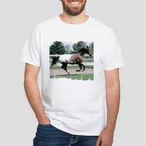 Appaloosa Galloping White T-Shirt