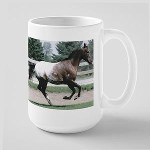 Appaloosa Galloping Large Mug