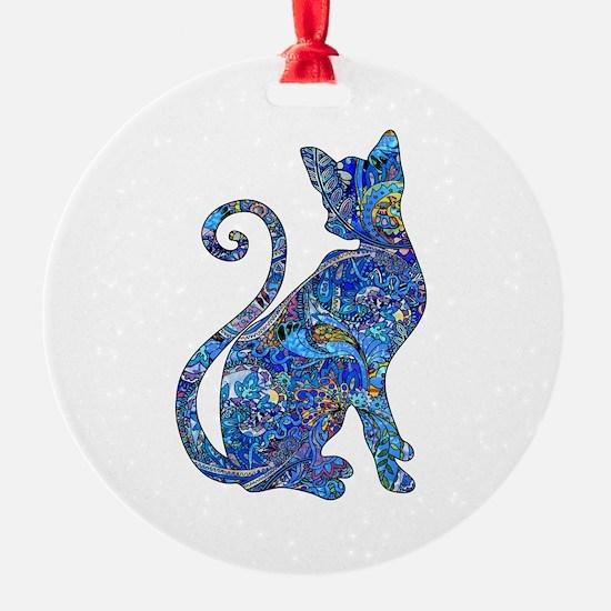 Cute Cat design Ornament