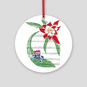 Coqui Ornament (Round)