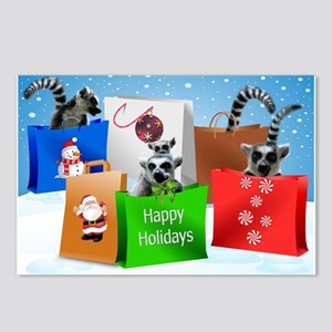 Shopping Lemurs Postcards (package Of 8)