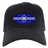 90th birthday men Baseball Cap with Patch
