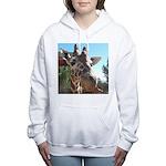 Giraffe (T) Women's Hooded Sweatshirt