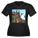 Giraffe (T) Plus Size T-Shirt