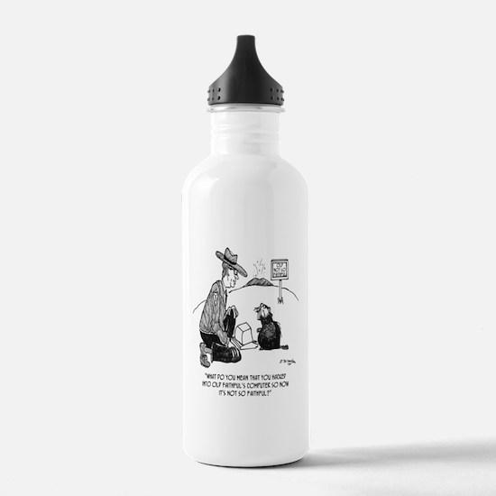 Beaver Cartoon 1640 Water Bottle