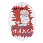 Gil T. on WAKO Oval Ornament