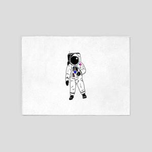 Spacesuit 5'x7'Area Rug