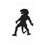 Trex Man Sticker