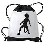 Trex Man Drawstring Bag