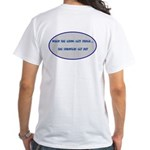 Sprinters Get Out White T-Shirt