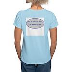 Sprinters Get Out Women's Light T-Shirt