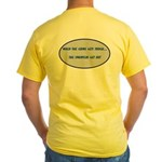 Sprinters Get Out Yellow T-Shirt