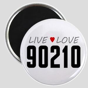 Live Love 90210 Magnet