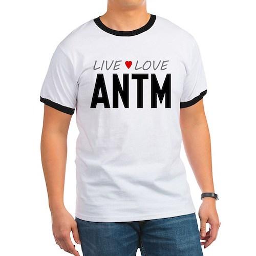 Live Love ANTM Ringer T-Shirt