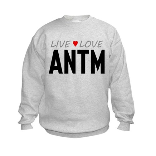 Live Love ANTM Kids Sweatshirt