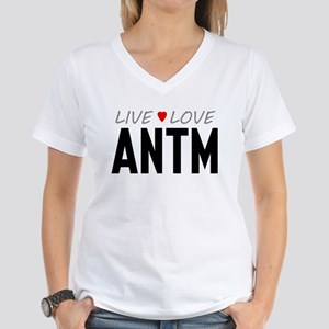 Live Love ANTM Women's V-Neck T-Shirt