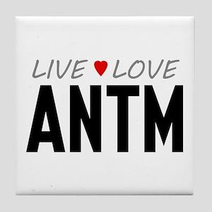 Live Love ANTM Tile Coaster