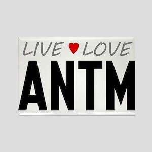 Live Love ANTM Rectangle Magnet