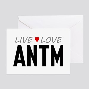 Live Love ANTM Greeting Card