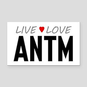 Live Love ANTM Rectangle Car Magnet